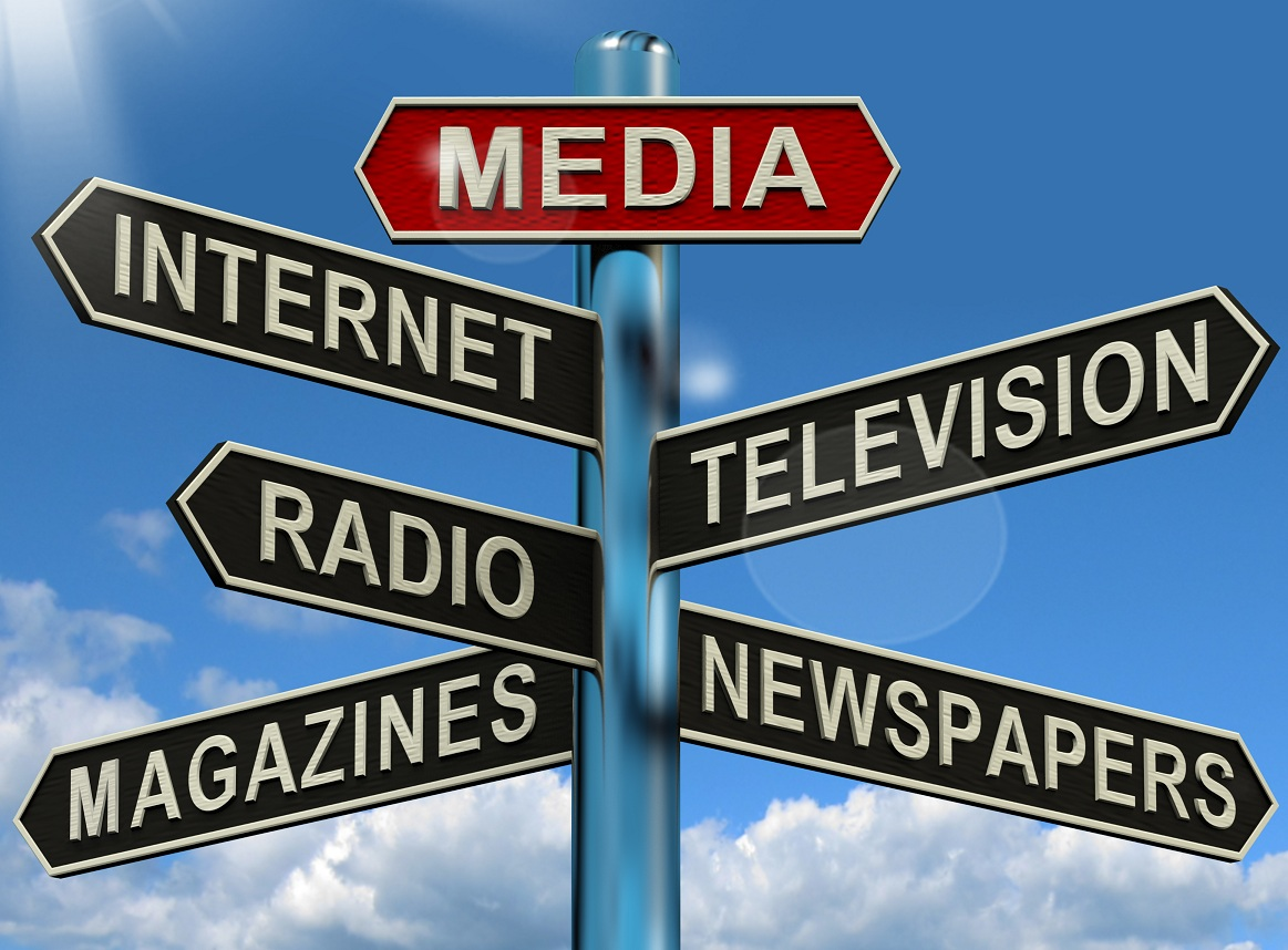The major role of media in our society